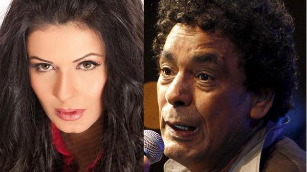 نجلاء بدر وحقيقة علاقتها مع محمد منير وسبب هروبه من عقد قرانه عليها
