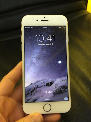 Kiểm tra các chức năng của iphone 6 plus