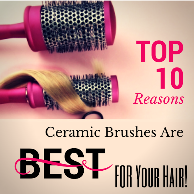 how to use a ceramic brush by barbies beauty bits