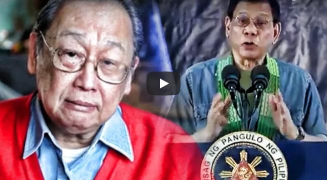 Duterte May Magandang Plano para Kay Joma Sison