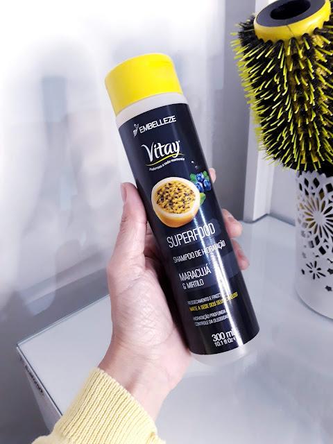 Shampoo de Hidratação Maracujá e Mirtilo