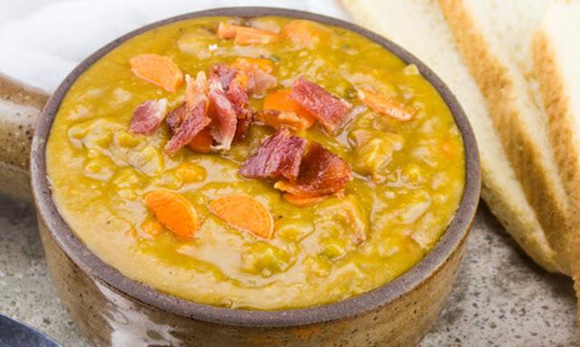 http://tornadoughalli.com/2017/08/slow-cooker-ham-bacon-split-pea-soup/