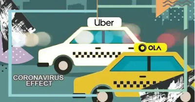 coronavirus effect, coronavirus effect ola uber,ola share rides, uber share rides,