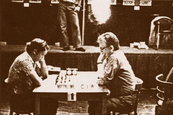 Partida de ajedrez Bent Larsen-Jaume Anguera en 1975