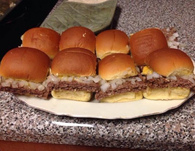 My fridge food amazing slider recipes for White castle double fish slider with cheese