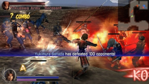 Download Game PPSSPP Samurai State Of War