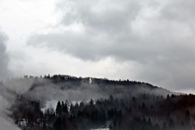 mountain smoke photography