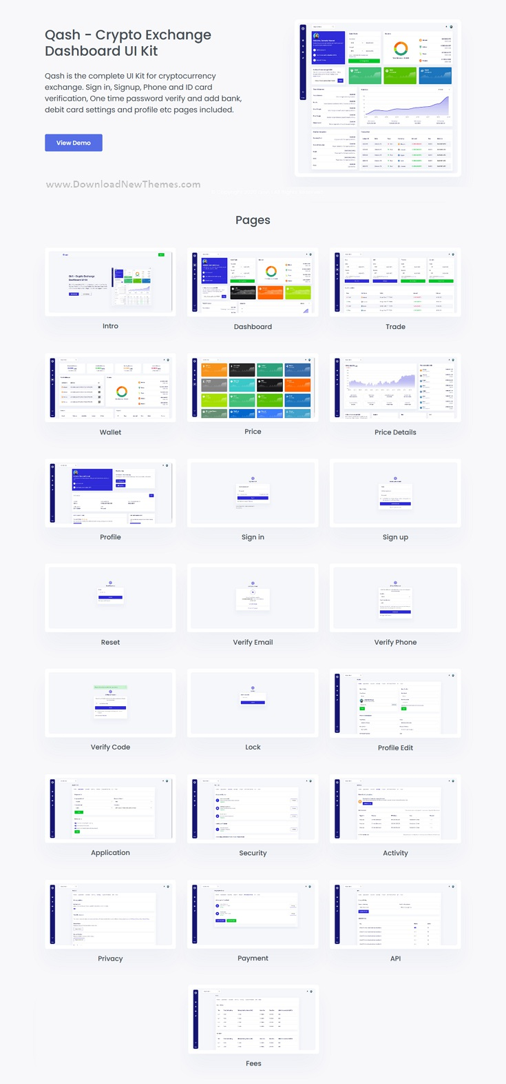 Cryptocurrency Exchange Bootstrap Laravel Dashboard Template
