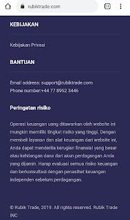 Website RubikTrade