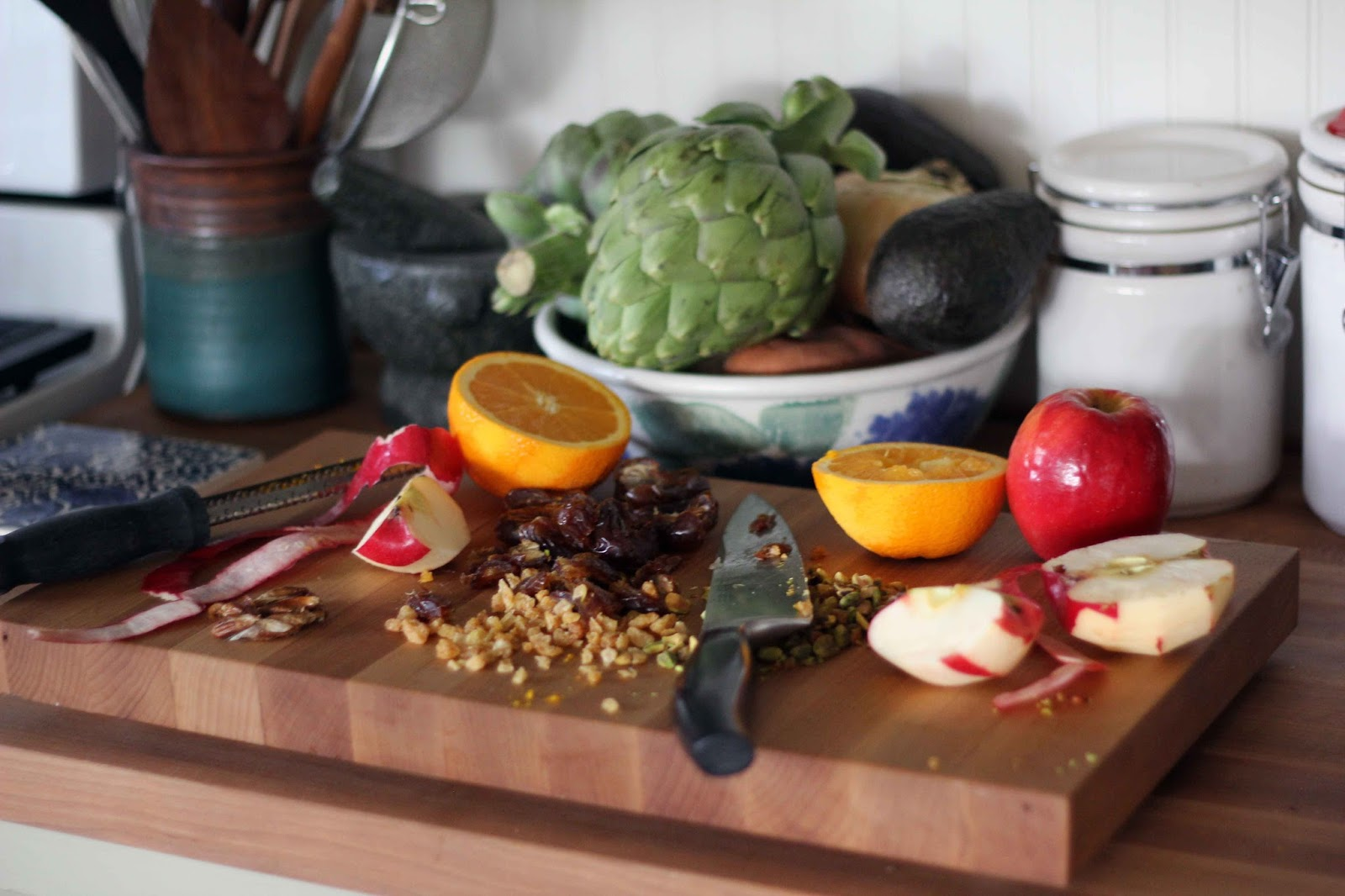 Blue Kale Road: Turkish Haroset for Passover