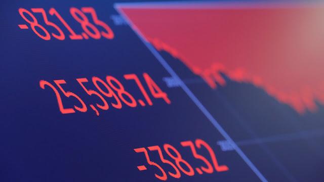 El índice Dow Jones sufre su peor caída en ocho meses tras perder 800 puntos