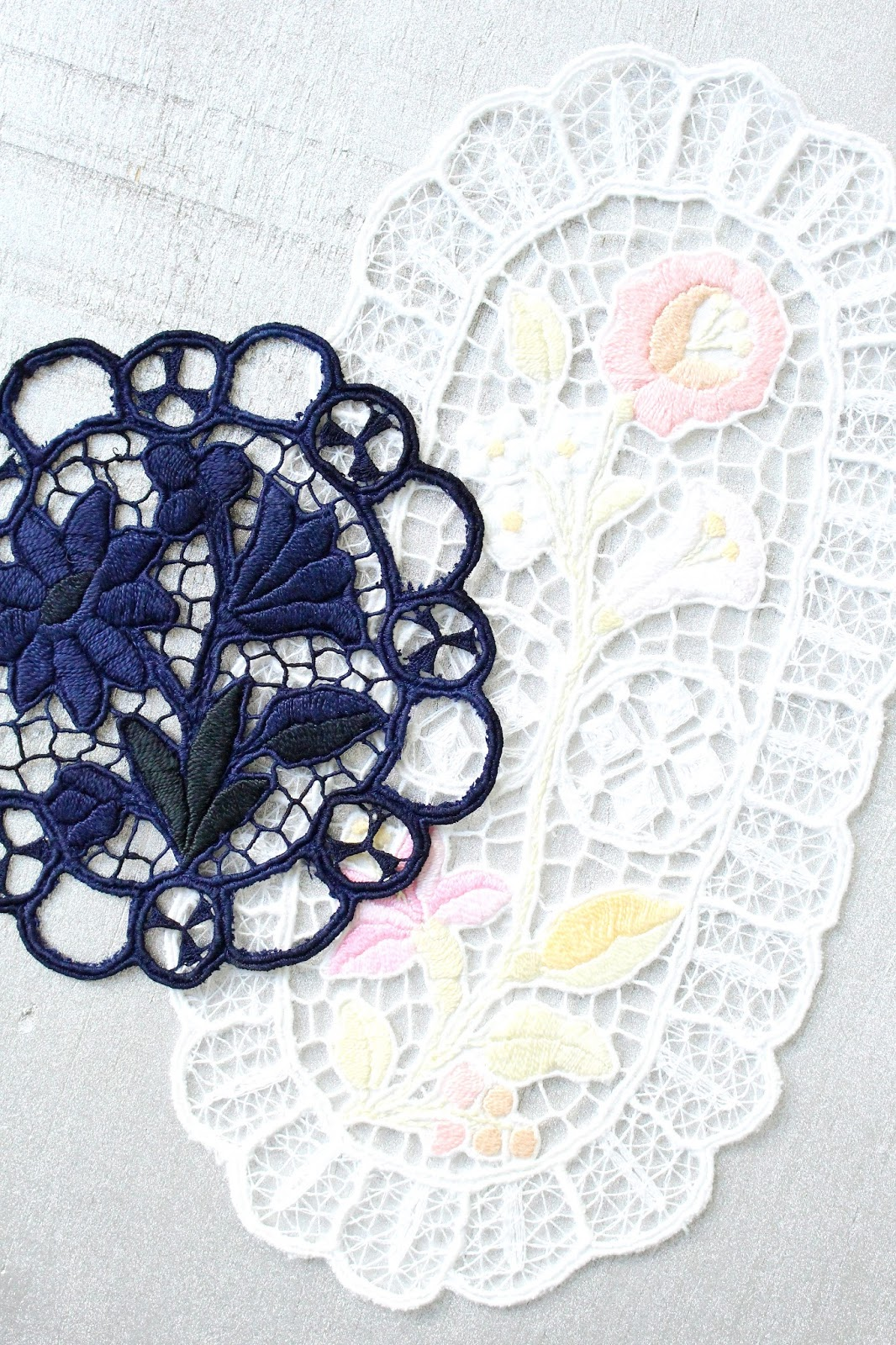 How to Bleach and Overdye Hungarian Embroideries