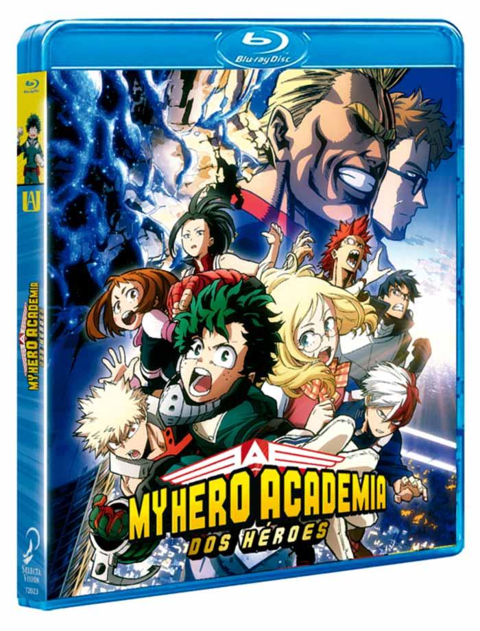 My Hero Academia: Dos héroes anime - Selecta Visión