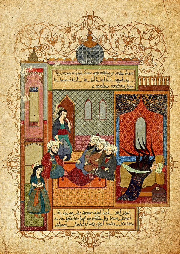 Murat Palta - Incarnated by Words - The Metamorphosis || #LibrosPOP - LasMilVidas