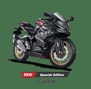 All New Honda CBR 250R Mat Gunpowder Black Metallic  2020 Sejahtera Mulia Cirebon
