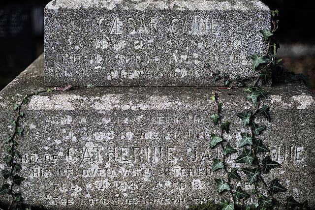 Caesar Caine Headstone, Cleator, Cumbria