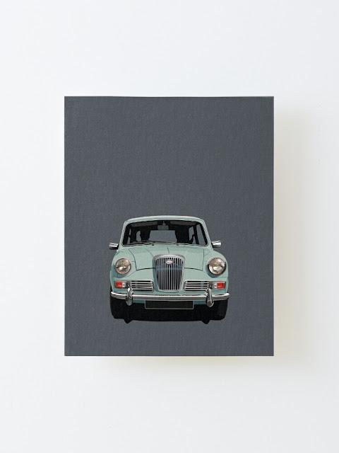 Wolseley Hornet classic car prints