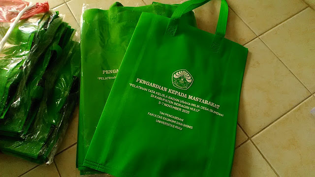 Goodie Bag Tim Pengabdian UNRI