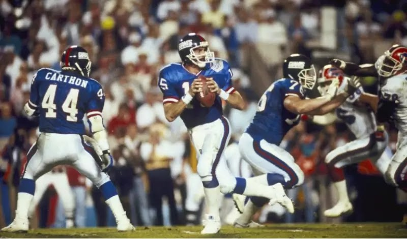Hostetler replaced Phil Simms in 1990 and led the Giants to win Super Bowl XXV against the Bills.