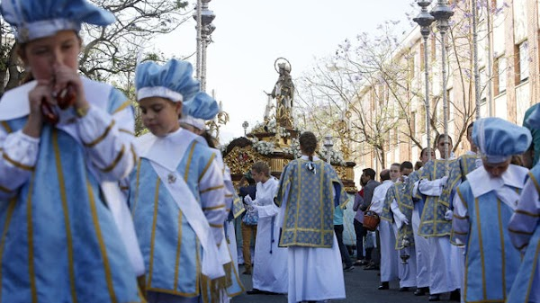 Suspendida la procesión de María Auxiliadora de Cádiz en mayo por el coronavirus