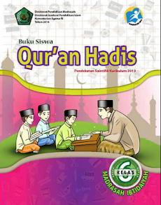 Download Buku Guru Dan Buku Siswa PAI dan Bahasa Arab Kurikulum 2013 Kelas 6 MI