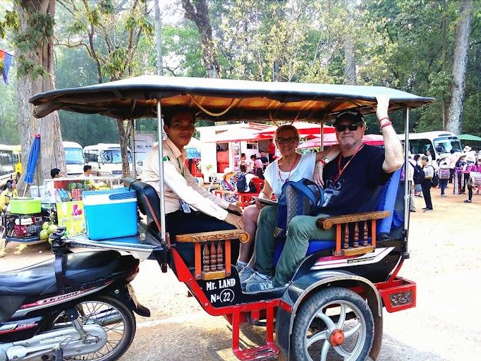 Visite le site d'Angkor en Tuk Tuk