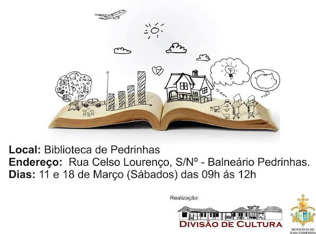 CONTAÇÃO DE HISTÓRIAS NA BIBLIOTECA DE PEDRINHAS EM ILHA COMPRIDA