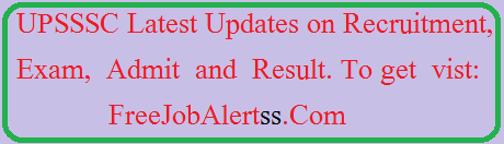 upsssc-latest-news-recruitment-exam
