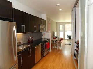 Galley Kitchen Layout Design ~ Modern Design Pictures - Corridor Kitchen Design