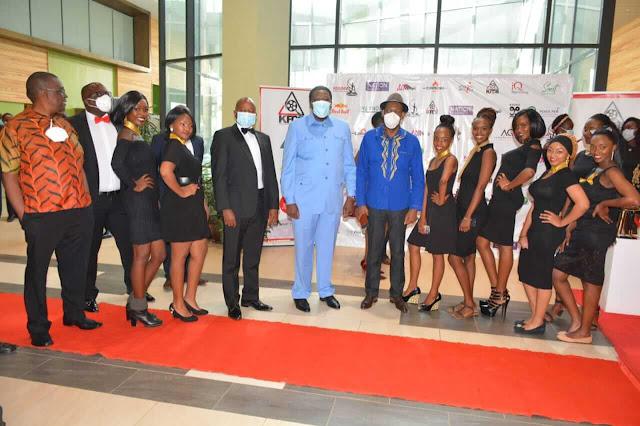 The chief guest at the Kisima award ceremony was Devolution CS Eugene Wamalwa at Sarit centre photo