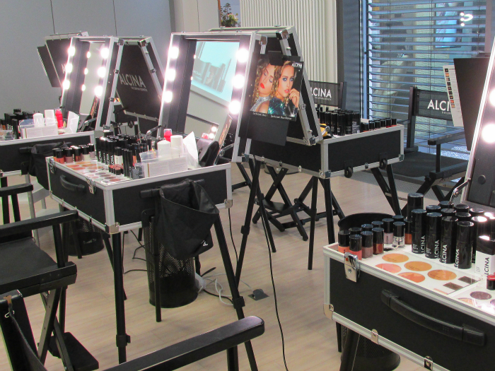 ALCINA Makeup Beauty Event - Schmink Koffer