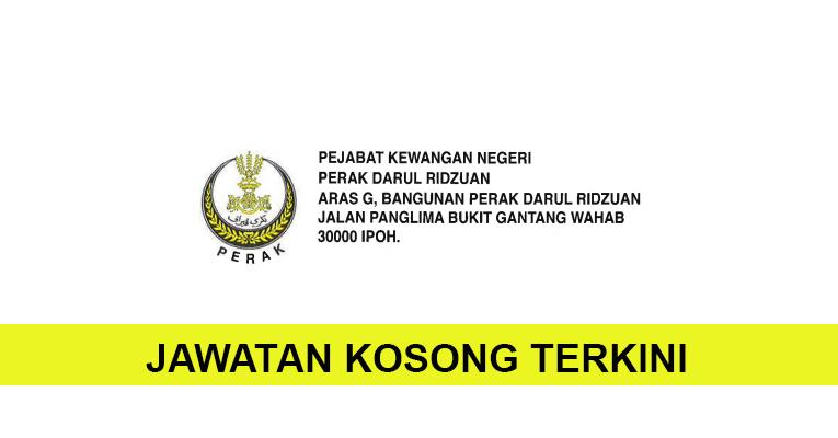 Kekosongan Terkini di Pejabat Kewangan Negeri Perak