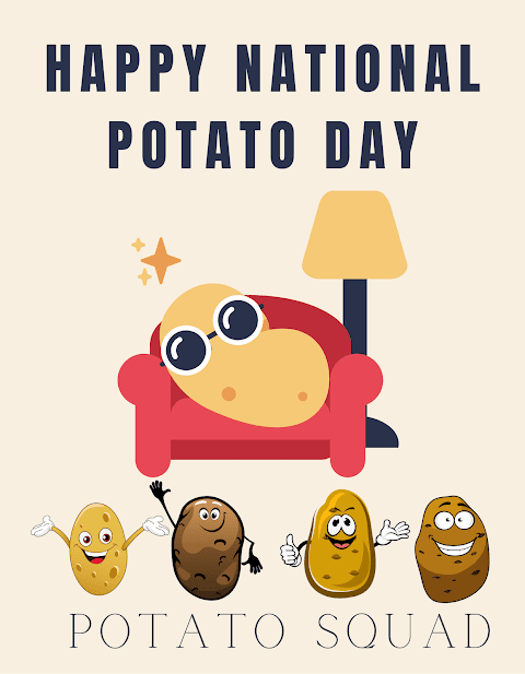 HAPPY NATIONAL POTATO DAY!  19th August 2021