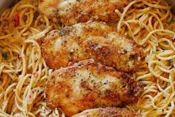 Delecious Italian Chicken Pasta
