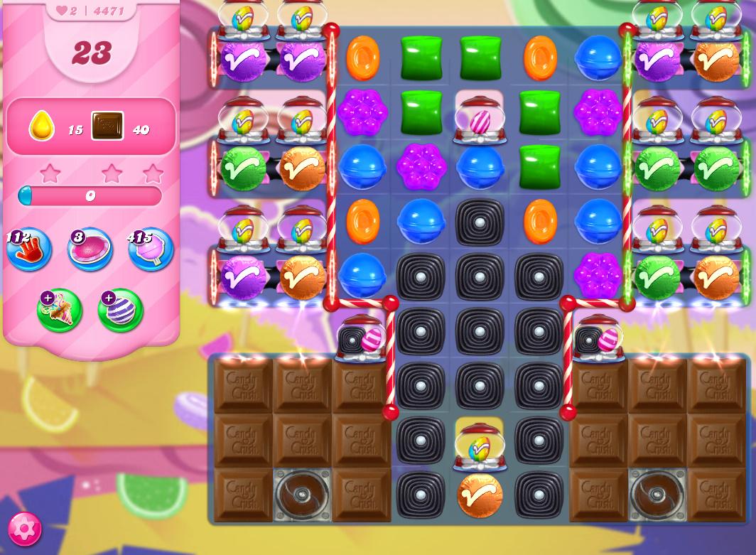 Candy Crush Saga level 4471
