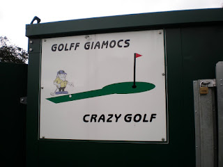 Crazy Golf in Wales