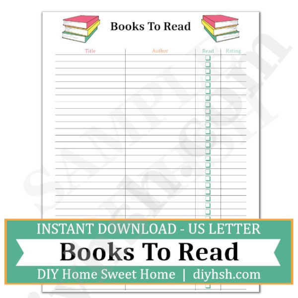 It is an image of Sassy Book List Printable