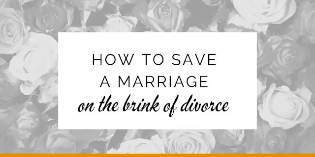 saving a marriage
