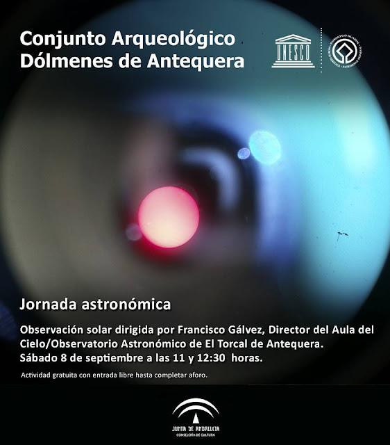Jornada Astronómica en los Dólmenes de Antequera
