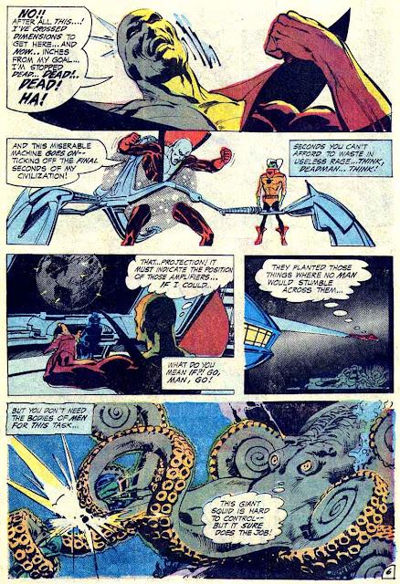 Aquaman v1 #52 dc 1970s bronze age comic book page art (deadman) by Neal Adams