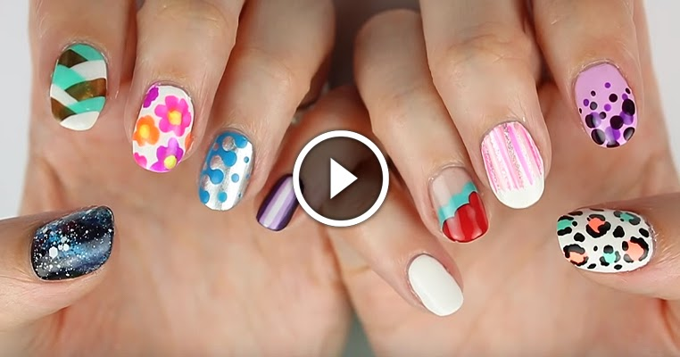 10 Easy Nail Art Designs For Beginners See Tutorial Style Hunt World