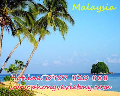 Vé máy bay đi Malaysia quận Tân Bình