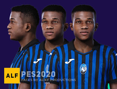 PES 2021 Faces Amad Diallo by Alief