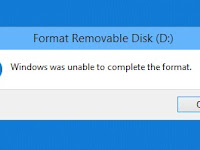 """Cara Memperbaiki """"windows was unable to complete the format"""""""