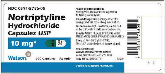 נורטילין   - Nortriptyline