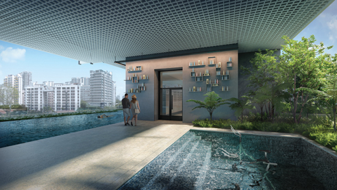 Jui Residences - Aqua Gym