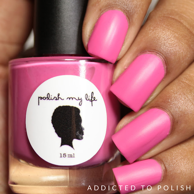 Polish My Life Really Rose Thank You for Being a Friend Collection