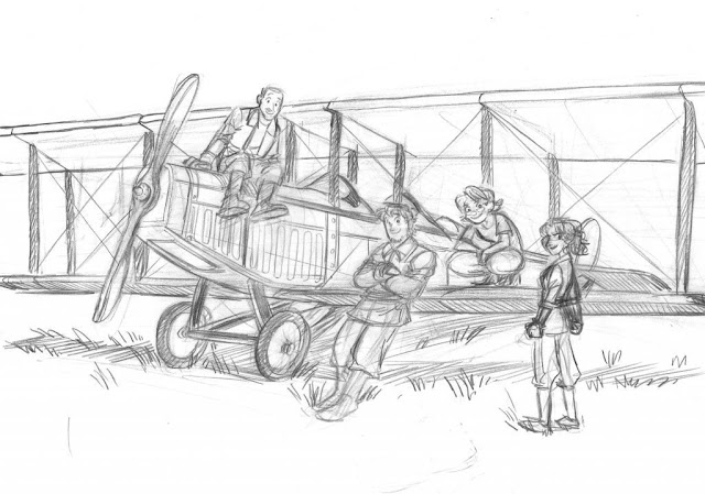 Barnstormers Graphic Novel Concept 1