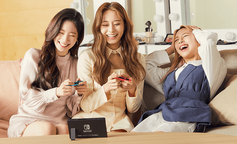 K-pop group TWICE collaborates with Nintendo Korea