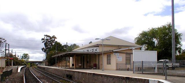 Bundanoon railway station, New South Wales, Australia. Photo by Susan Walter.